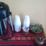 Recepção- Chá de coca