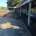 Outdoor dining on the IntraCostal