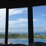 View from the bed Villa #19