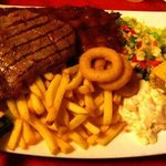 Steak and rib combo