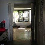 Entrance to bathroom Villa #19