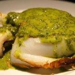 Sepia a la plancha con salsa verde. Bodeguita1999 Alicante. Especialistas en carnes de calidad.