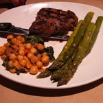 Fillet Mignon with Asparagus