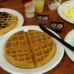 Breakfast.  Wonderful Waffle maker