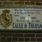 Toulouse Street sign