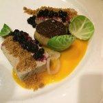 Foie gras tasting - good portion, rich, delicious