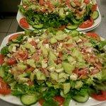Nos salades!!!