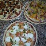 Nos pizzas préparées à la commande !!!
