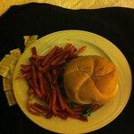 Century Burger (room service)