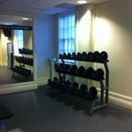 Fitness room w/free weights