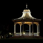"""Elder Park elegance""  Elder Park rotunda at night"
