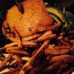 Spinach/Avocado burger