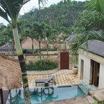 garden view from Borobudur suite