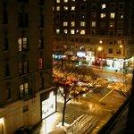 Fifth floor view onto Broadway.