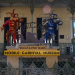 The Mobile Carnival Museum front (entrance is through the gift shop)