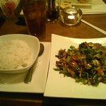 Wok Seared Beef With Leeks