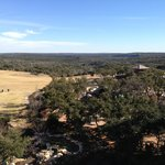 hill country view from patio