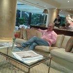 Momento de relax en el Lounge