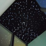Starry night ceiling above the soa