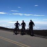Top of Haleakala near the Skyline trailhead
