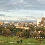 Panoramic view of Intramuros and Manila