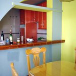 Кухня соединенная с гостиной