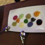 Paleta de colores y sabores
