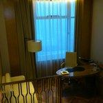 deluxe room work area