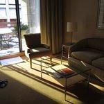 Sofa and terrace