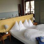 Zimmer mit riesigem Balkon und toller Aussicht