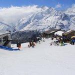 Skigebiet Hohsaas/Saas-grund