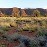 Uluru On Sun up   Spectacular