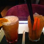 Close up of our delightful cocktails!
