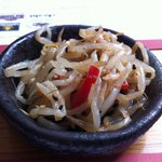 Chilli Beansprouts (Given Free!)