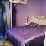 the purple room!