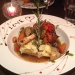beautiful lamb shank for Valentine's Day