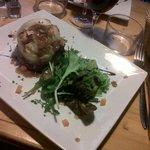 Parmentier de canard et sa petite salade, comme à la maison, hummmm !