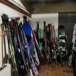 Ski Room in hotel