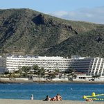 view of hotel from Playa de Los Cristianos