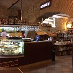 Bancone dove si creano i meravigliosi piatti del gentilissimo Pasquale!!!