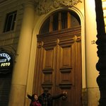 the main door/gate