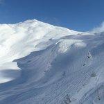View of Snowcrosses from TSD Fornet, Avoriaz