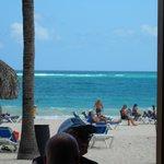 desde bar de playa