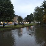 the stream, bourton-on-the-water