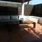 Sansky Villa roof terrace