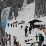 Intercross section of lifts and restaurants in Avoriaz - Lower