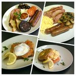 Full Cooked Breakfast / Gluten Free / Smoked Salmon