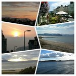 Various views of beautiful Llandudno