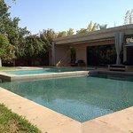 Private pool in the villa