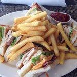 Club sandwich! Best ever!